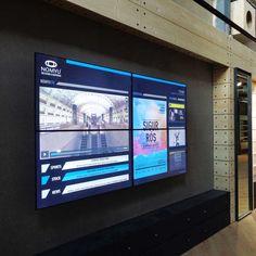 Video Wall for Bazar Desportivo: Digital Signage   #videowall #digitalsignage #storeofthefuture #displays #technology