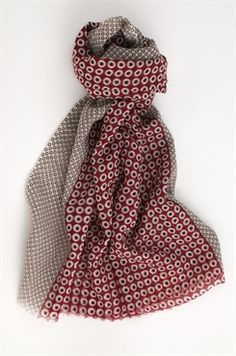 who knew john malkovich had a menswear line?  and one with such amazing scarves??