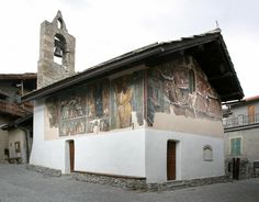 La cappella affrescata di S.Antonio abate di Jouvenceaux (Sauze d'Oulx)