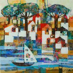'Summer Landscape' by Alicja Urbaniak