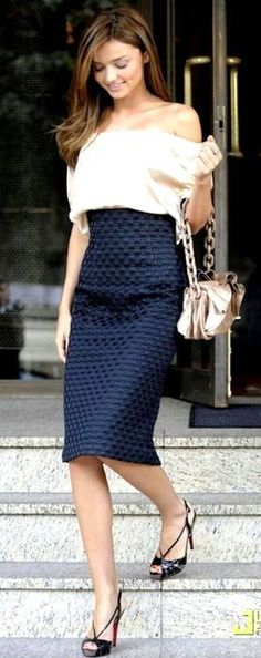 60 Next To Be Popular Summer Outfit Ideas | Pencil skirts and Lavender