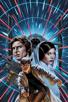 THE GREATEST SPACE ADVENTURE OF ALL TIME CONTINUES! - As Luke goes home in search of the truth about his late mentor... - ...Leia takes Han on a secret mission of vital importance to the Rebellion. -