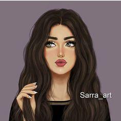 Image may contain: 1 person Beautiful Girl Drawing, Cute Girl Drawing, Cartoon Girl Drawing, Beautiful Anime Girl, Girl Cartoon, Cartoon Art, Girly M, Tumblr Drawings, Girly Drawings