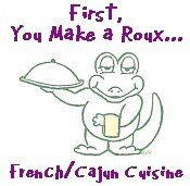 First, you make a roux.... I just made a pot of gumbo! Can't wait to dig in!