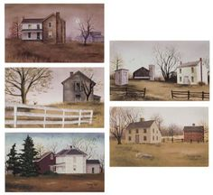 Canvas Prints - Billy Jacobs Countryside Canvas Collection Small - 5 Pc Set Primitive Country Rustic Art Set Kennedy http://www.amazon.com/dp/B005LDAJD4/ref=cm_sw_r_pi_dp_0pMZtb0MNK4ZVC7A
