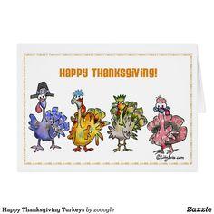 Happy Thanksgiving Turkeys