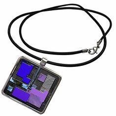 3dRose Jos Fauxtographee Abstract - Blue, Purple, Lilac a…