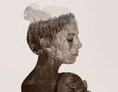 """Check out new work on my @Behance portfolio: """"Double Exposure"""" http://be.net/gallery/43071907/Double-Exposure"""