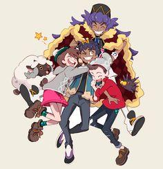 """show some love to your rival🌟"" Pokemon Comics, All Pokemon, Pokemon Fusion, Cute Pokemon, Pokemon Games, Pokemon Champions, Fairy Tail Anime, Digimon, Poses"