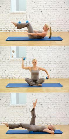 SISSEL® Pilates Toning Ball - Die perfekte Ergänzung für Ihr Pilates-Mattenprogramm!