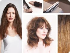 Cover your grey hair with a brilliant brunette shade with warm and cool iridescent tones.