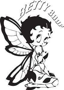 Colouring Pages, Coloring Books, Betty Boop Tattoos, Boop Gif, Fairy Silhouette, Printable Adult Coloring Pages, Old Cartoons, Stickers, Rock Art