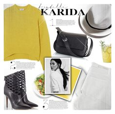 """""""Fratelli Karida"""" by jiabao-krohn ❤ liked on Polyvore featuring Acne Studios, Nobody Denim, Fratelli Karida, GUESS and FratelliKarida"""