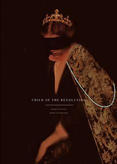 """mashamorevna: """""""" child of the revolution, maiden of myth, bride of darkness """" """""""