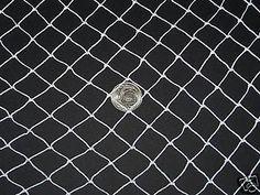 """35' x 7'  Batting Cage Netting Golf Net 1"""" Nylon  #9 Hockey Barrier Nets"""