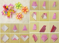How to make Paper Flower Dish step by step DIY tutorial instructions