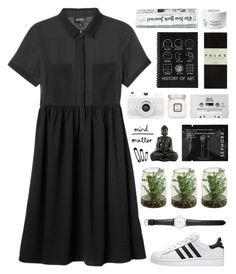"""DOMINO"" by dianakhuzatyan ❤ liked on Polyvore featuring Monki, Laura Mercier, Diptyque, Falke, Sephora Collection, Ole Mathiesen, polyvoreeditorial and organized"