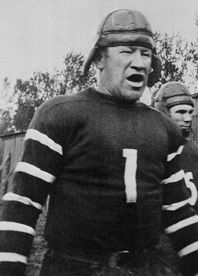 Jim Thorpe was a professional football player in the 1920s. In 1920 the American Professional Football Association was established and he became president of the league. One year later he stepped down to focus on playing for the Bulldogs. He finished playing in 1928 for the Chicago Cardinals.
