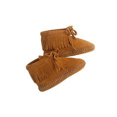 Minnetonka Baby Fringe Booties: You can't go wrong with Minnetonka's classic Baby Fringe Booties ($20) — they're sold at J.Crew for babies 3-12 months.