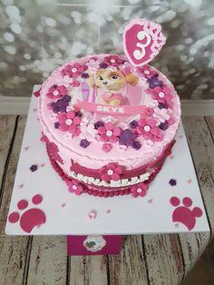 paw patrol Skye cake  by Diva of Cake