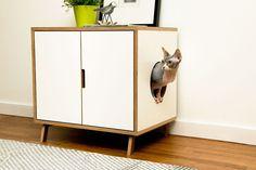 25 kekseliästä ja kivaa sisustusideaa kissakoteihin | Vivas