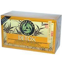 Triple Leaf Tea, Detox, 20 Tea Bags, 1.4 oz (40 g) - iHerb.com  $3.38