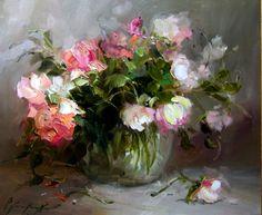 Obraz Roze ogrodowe - Artysta Joanna Heier Nyiro
