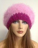 Hand Knit Hat Beret Beanie Tam Slouch Cap Wool by HANDKNITS2LOVE, $39.00