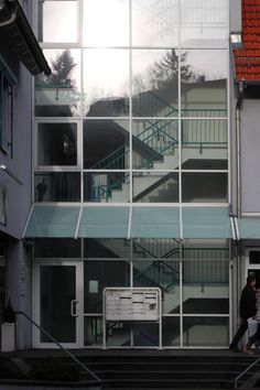 2012-12-17: small town glass facade
