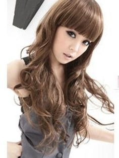 High Quality Pretty Long Wavy about 26 Inches Synthetic Hair Wig  Original Price: $205.00 Latest Price: $61.09