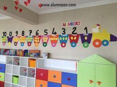 30 Classroom decorating ideas - Aluno On Preschool Classroom Decor, Toddler Classroom, Classroom Walls, Classroom Displays, Kindergarten Classroom, Classroom Decor Themes, Preschool Activities, Birthday Chart Classroom, Nursery Activities
