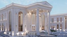 Classic House Exterior, Classic House Design, My Home Design, Dream House Exterior, Villa Design, Beautiful House Plans, Dream House Plans, House Outside Design, House Design Pictures