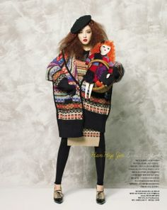 """Fashion Dolls"": Koreans Playing Major Fashion Designers by Bo Lee for Vogue Korea"