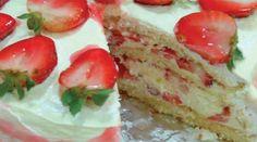 73--bolo gelado dois sabores morango e limão