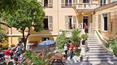 Herrliche Sonnenterasse unserer Sprachschule auf Nizza.  #Nizza #Sprachreise #Sonnenterasse #Sprachkurs #Frankreich #französisch