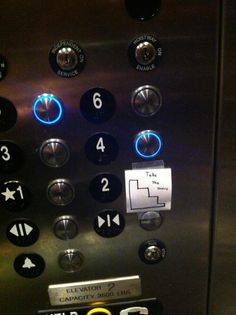 I want to put these on every elevator