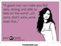 A good man can make you feel strong...