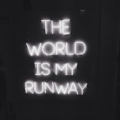 Image about fashion in neon light signs by kaitlyn B&w Tumblr, Neon Quotes, Girly Quotes, Black Quotes, Neon Words, Neon Aesthetic, Quote Aesthetic, Neon Lighting, Fashion Quotes