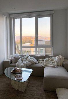 online shop coming soon.. Dream Apartment, Apartment Interior, Apartment Living, Home Room Design, Dream Home Design, Home Interior Design, Room Ideas Bedroom, Aesthetic Bedroom, Dream Rooms