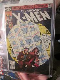 X-men #141 Very Fine/NM- John Byrne FUTURE  X-MEN  Comics $75. http://graphic-illusion.com