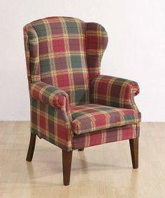 Fotel Uszak naszej produkcji. Our WingBack Armchair.
