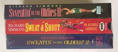 Richard Simmons Sweatin to The oldies 1 2 sweat Shout VHS Workout Videos SEALED | eBay