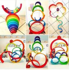 Montessori Playroom, Montessori Toddler, Montessori Activities, Toddler Activities, Grimm's Toys, Kids Toys, Cool Kids Bedrooms, Bedroom Girls, Bedroom Ideas