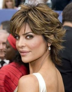 Lisa Rinna's Textured Shag
