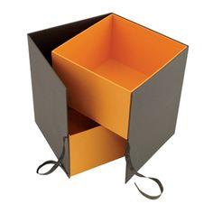 2 Tier Rigid Card Hamper Box