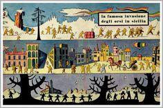 """Dino Buzzati """"La famosa invasione degli orsi in Sicilia"""" (""""The Bears' Famous Invasion of Sicily """")"""