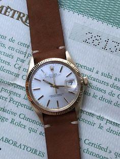 e2eabc8cb96  FORSALE ORIGINAL 1972 ROLEX OYSTER PERPETUAL DATE 1503 14K Gold Mens Watch  Mint w