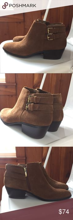 New Sam Edelman boots booties brown suede ankle New Sam Edelman ankle boots. Brown suede. Size 9. New without box. Ships within 1 business day. Sam Edelman Shoes Ankle Boots & Booties
