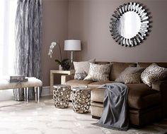 Dekorierende Wohnzimmer Brown Couch. Möbel BraunInnenraumKinderzimmer Wohnzimmer ...