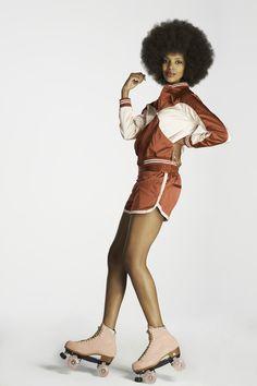 Grace Mahary pour Vogue : Hostess with the Mostess